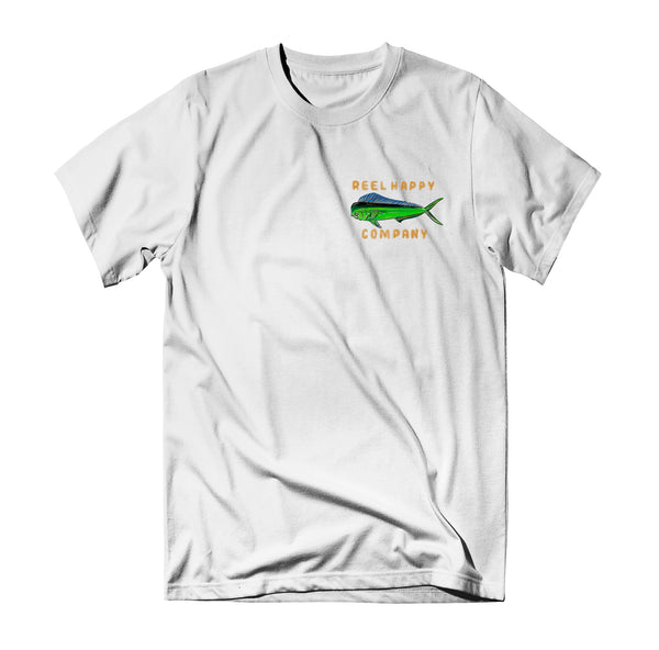 Fish Wranglers Tee - White - Reel Happy Co