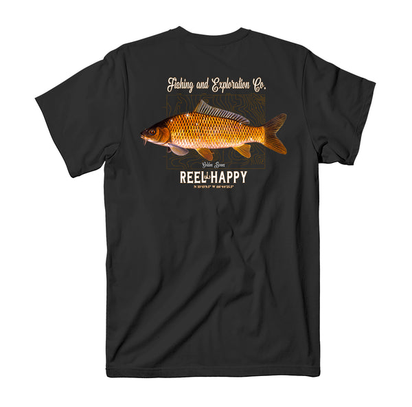 Golden Bones Tee - Black - Reel Happy Co