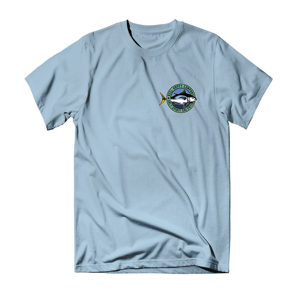 Porthole T-Shirt - Light Blue - Reel Happy Co