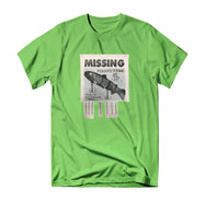Missing T-Shirt - Lime - Reel Happy Co
