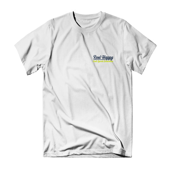 Point Guard Tee - White - Reel Happy Co