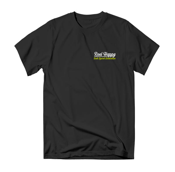 Point Guard T-Shirt - Black - Reel Happy Co