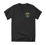 Lazy River Tee - Black - Reel Happy Co