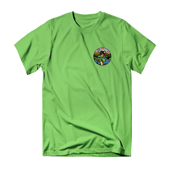 Lazy River Tee - Lime - Reel Happy Co