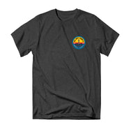 Smoothie Treble Icon T-Shirt - Dark Heather - Reel Happy Co