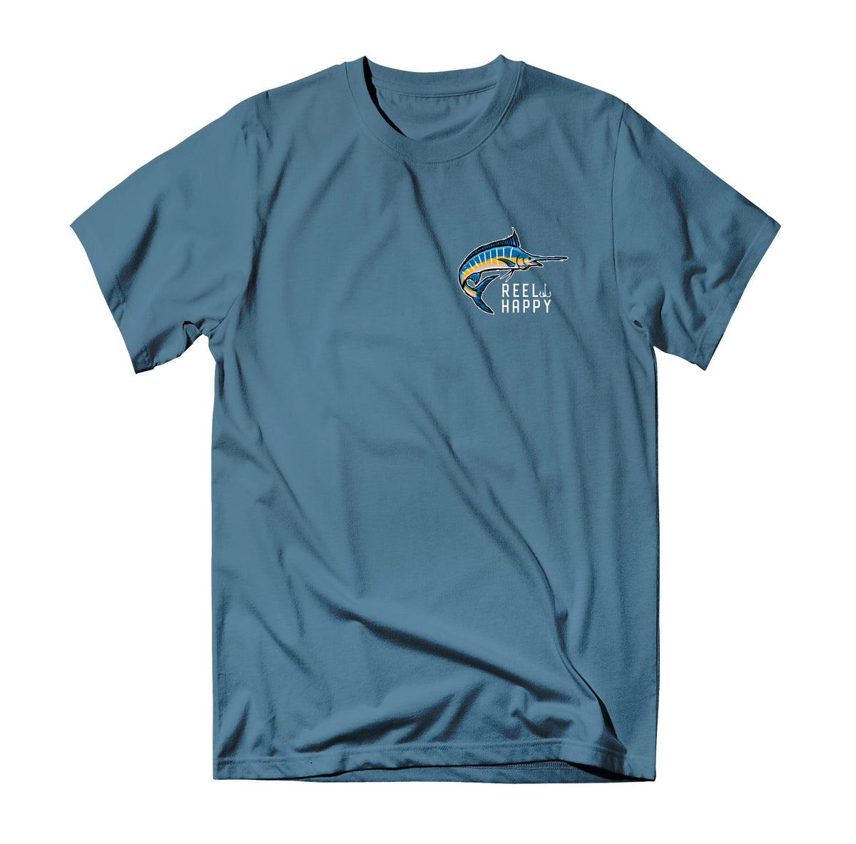 Bill Blender T-Shirt - Slate - Reel Happy Co