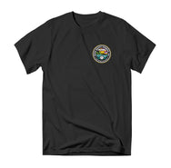 Saltscape Tee - Black - Reel Happy Co