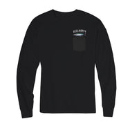 King Mack LS Pocket Tee - Black