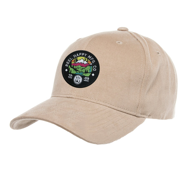 Reel Salvation Hat - Khaki - Reel Happy Co