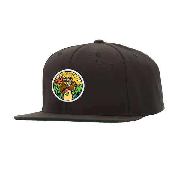 River Bounty Snapback - Black - Reel Happy Co