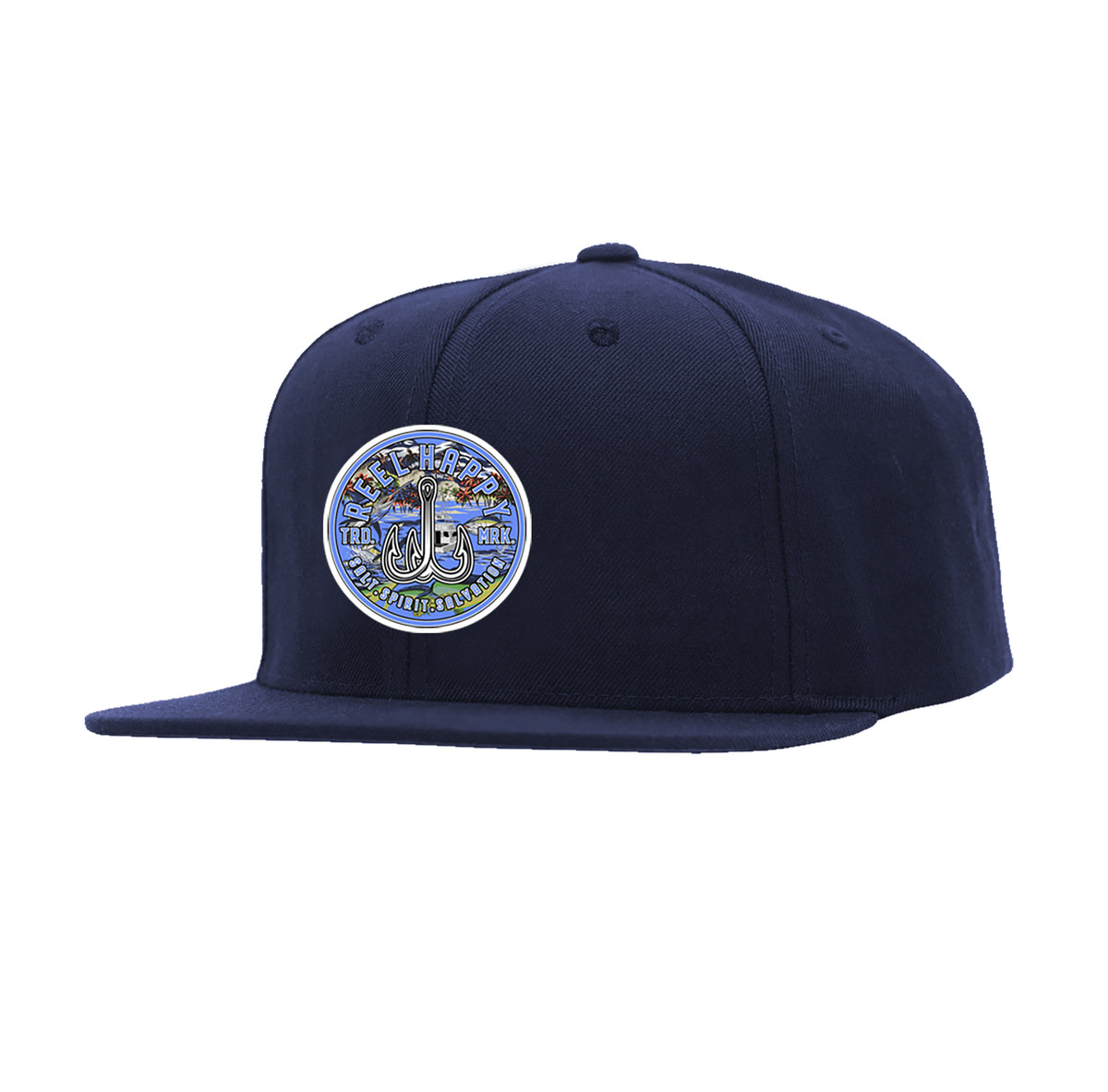 The Life Snapback - Navy - Reel Happy Co
