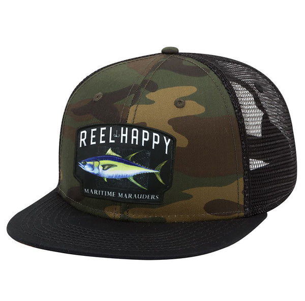Topo Trucker Snapback - Reel Happy Co
