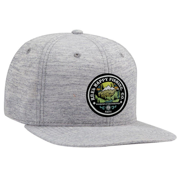 Frontier Snapback Hat - Heather Grey - Reel Happy Co