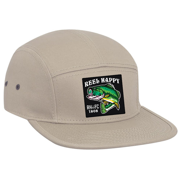 Happy Camper Hat - Khaki - Reel Happy Co