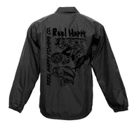 Silence Windbreaker - Black - Reel Happy Co
