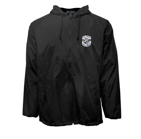 Resistance Jacket - Black - Reel Happy Co