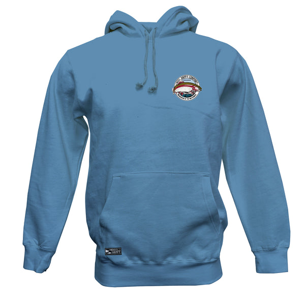 Lakefront Hoodie Sweatshirt - Columbia Blue - Reel Happy Co