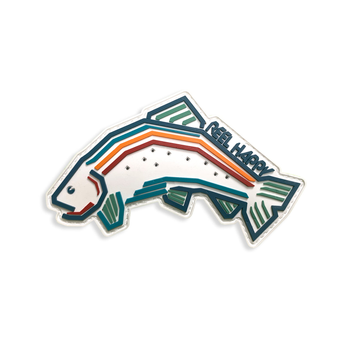 Trout Blender Morale Patch - Reel Happy Co