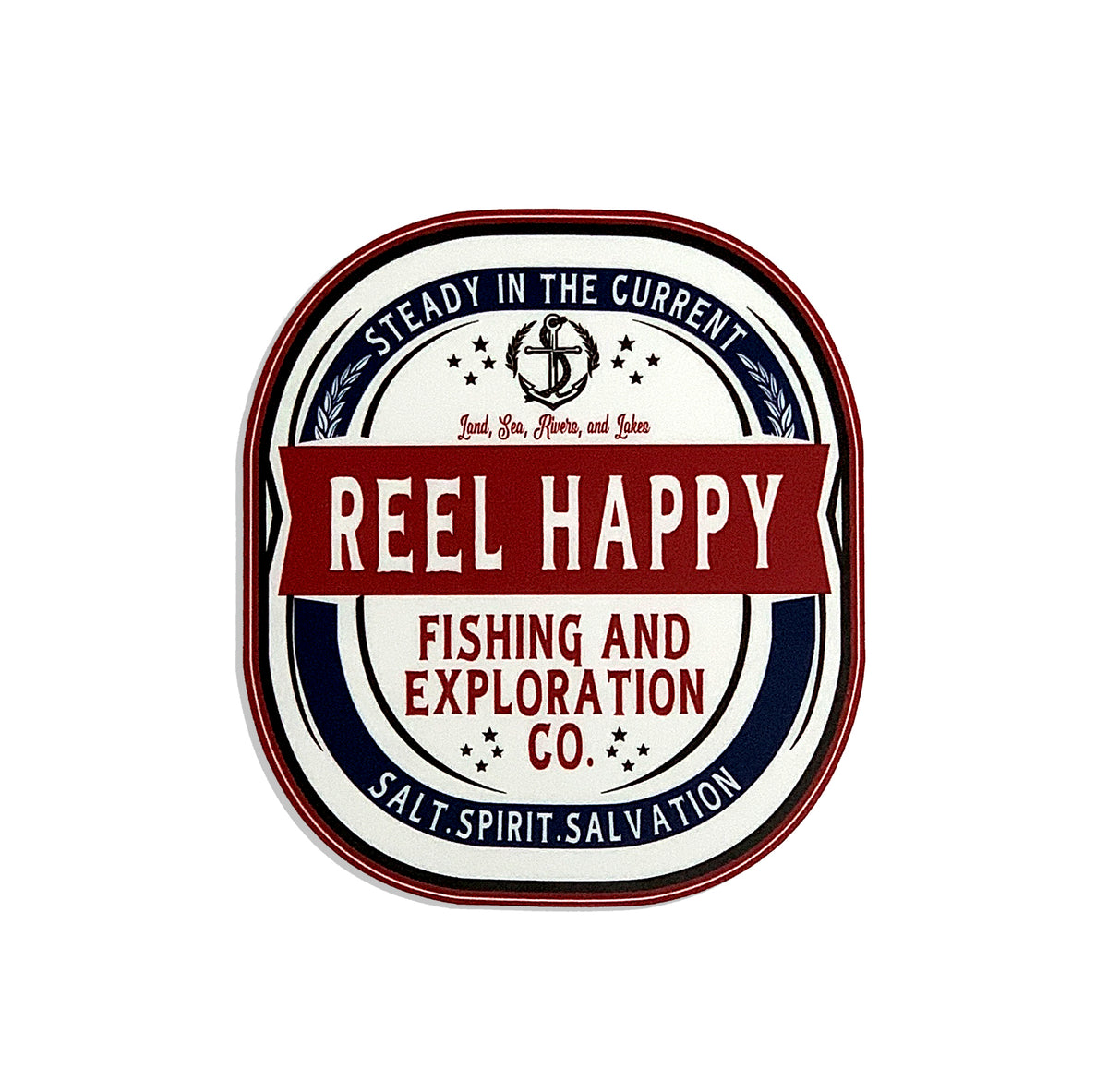 Turnt Label Sticker - Reel Happy Co