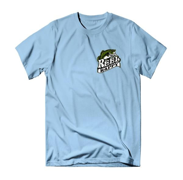 Virtuoso Too T-Shirt - Light Blue - Reel Happy Co