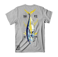 Yellowtech T-Shirt - Heather Grey - Reel Happy Co