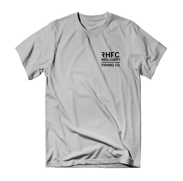 Yellowtech Tee - Heather Grey - Reel Happy Co