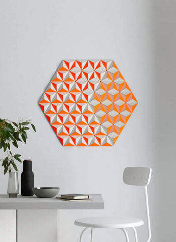 CIS-2 TOPOGRAPHIE orange hexagon