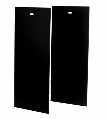 Rollarak Side Panels 500x500mm. Size 33u (Pair)