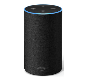 tall amazon echo in charcoal colour