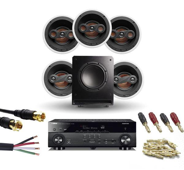 Yamaha & 5.1 In Ceiling Bundle