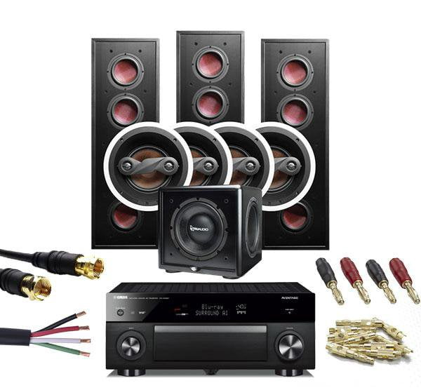 Yamaha & Bad Boy 7.1 Home Theatre Bundle