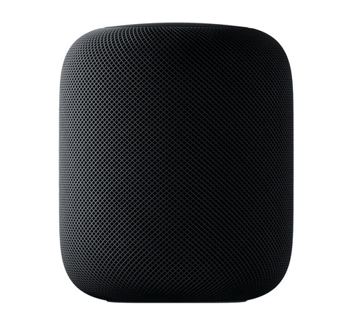Black apple home pod device