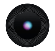 Load image into Gallery viewer, Black apple home pod device aerial view