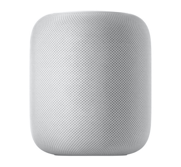 White apple home pod device