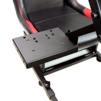 Driving Simulator Wheel Stand Cockpit with Gear Shifter Mount and Racing Chair Kit - Tanaka Power Sport
