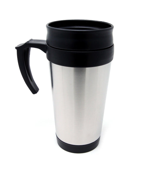 Hinata Stainless Steel Travel Coffee Mug Cup, 16 oz - Tanaka Power Sport