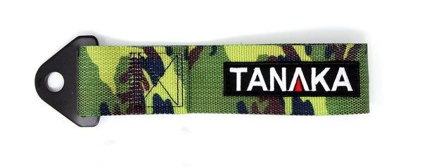 High Strength Racing Tow Strap (Camouflage) - Tanaka Power Sport