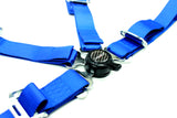 Racing Style 4-point Camlock Racing Harness (Blue) - Tanaka Power Sport