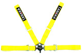 Racing Style 4-point Camlock Racing Harness (Yellow) - Tanaka Power Sport