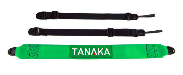 Tanaka Racing Style Shoulder Strap for DSLR Camera or Gym Bag (Green) - Tanaka Power Sport