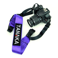 Tanaka Racing Style Shoulder Strap for DSLR Camera or Gym Bag (Purple) - Tanaka Power Sport