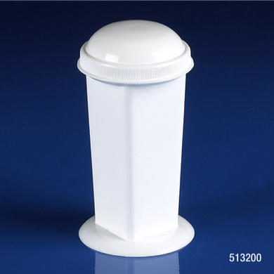 513200, Coplin Stainging Jar, 5-10 place, White