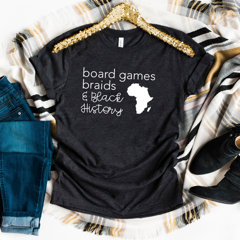 board games, braids + Black history