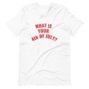 what is your fourth of july tee (white+red)