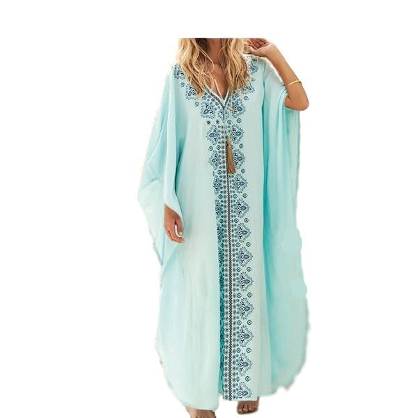 plus-size-dress-beach-summer-kaftan