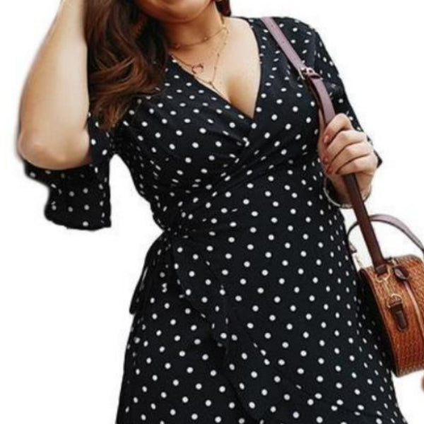 Ruffles and Polka Dots Dress