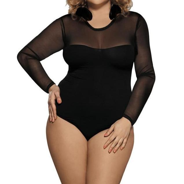 Plus Size lingerie Body suit