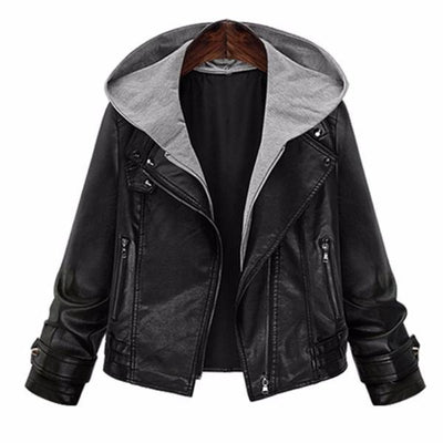 Plus Size Motorcycle Jacket