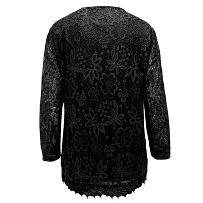 Dark Knight Floral Lace Top