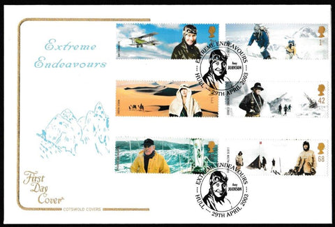 Great Britain First Day Cover, 'Extreme Endeavours', Cotswold, Extreme Endeavours, Hull, 29-Apr-2003